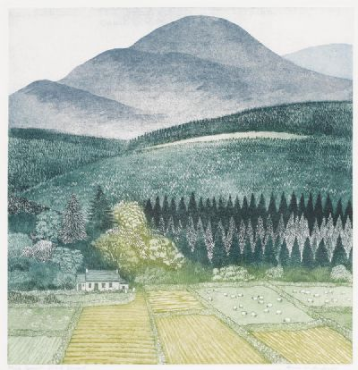 BENEATH SLIEVE DONARD by Anne M. Anderson  at deVeres Auctions