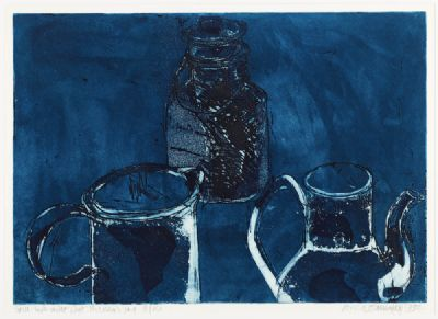 STILL LIFE WITH PAT HICKEY'S JUG by Alice Hanratty  at deVeres Auctions