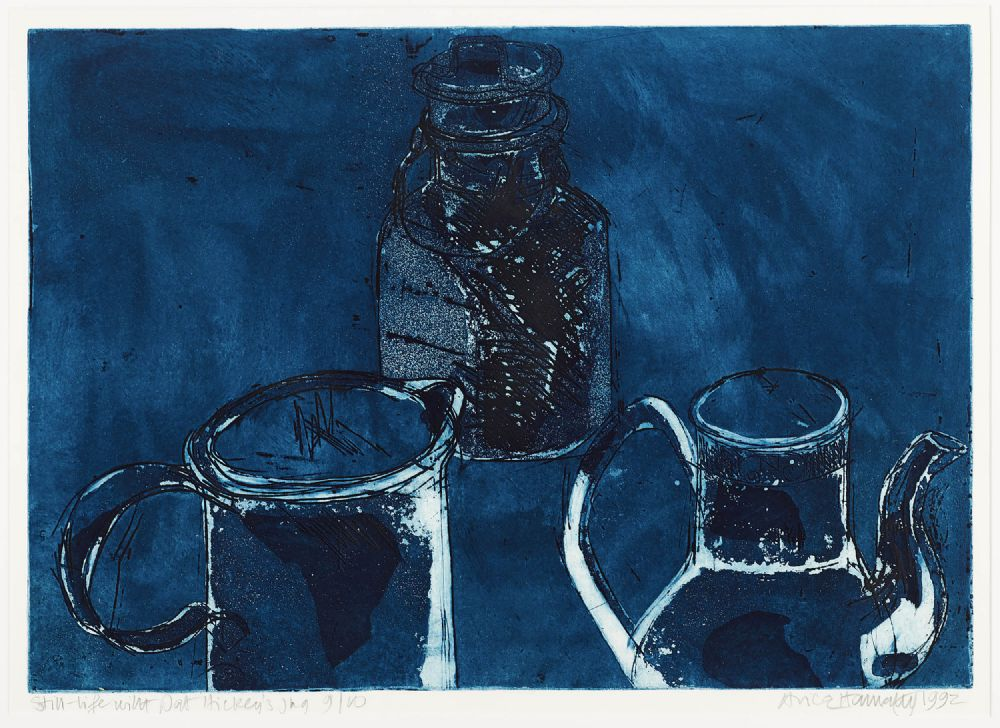 Lot 269 - STILL LIFE WITH PAT HICKEY'S JUG by Alice Hanratty
