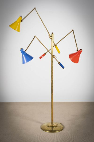 A TRIENNALE FLOOR LAMP at deVeres Auctions