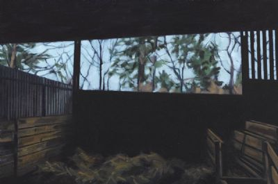 SHEEP SHED - KELSHA by Dorothy Smith  at deVeres Auctions