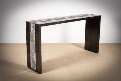 A MACASSAR CONSOLE TABLE at deVeres Auctions