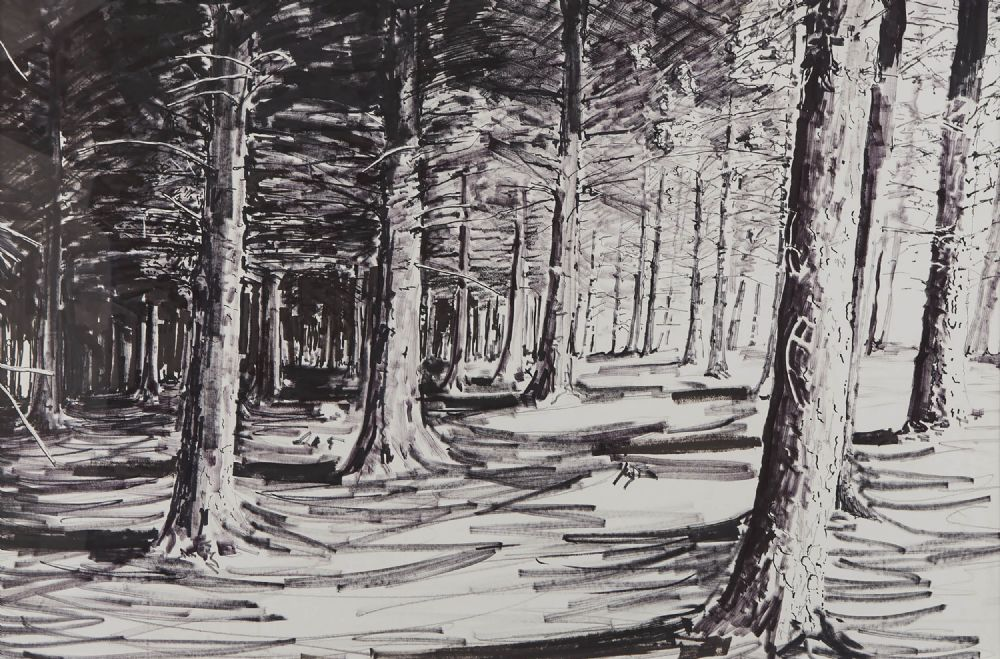 Lot 436 - FOREST THREE by Brendan Early