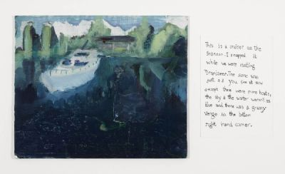 CRUISER ON THE SHANNON by Maria O'Brien  at deVeres Auctions