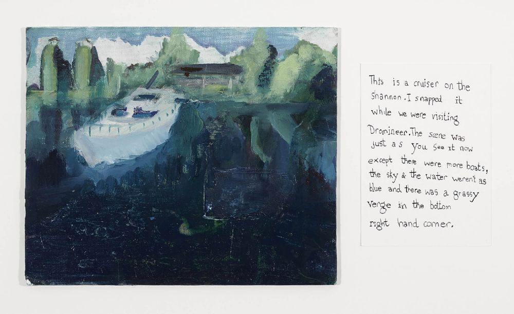 Lot 442 - CRUISER ON THE SHANNON by Maria O'Brien