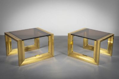 1960s SIDE TABLES at deVeres Auctions