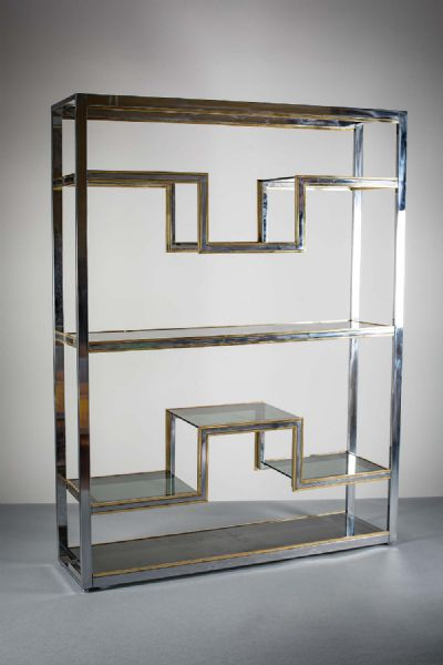 A SET OF SHELVES at deVeres Auctions