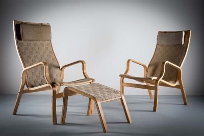 DANISH EASY CHAIRS at deVeres Auctions
