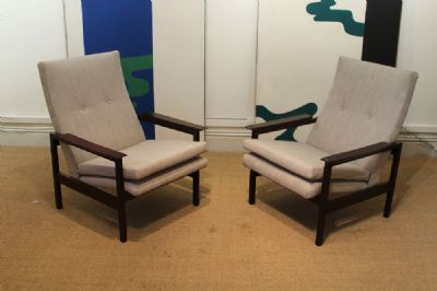 TEAK ARMCHAIRS at deVeres Auctions