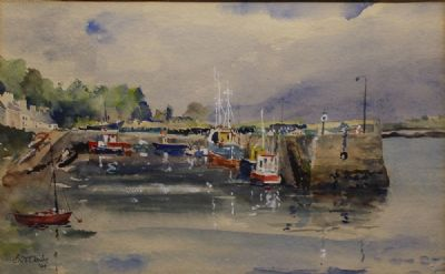 THREE WATERCOLOURS by Brid Clarke  at de Veres Auctions