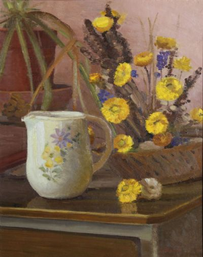 STILL LIFE WITH FLOWERS by Therese McAllister  at de Veres Auctions