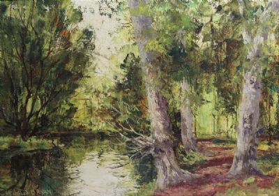 WOODLAND by Fergus O'Ryan  at de Veres Auctions