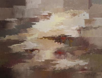 REFLECTION AUTUMN by Gretta O'Brien  at de Veres Auctions