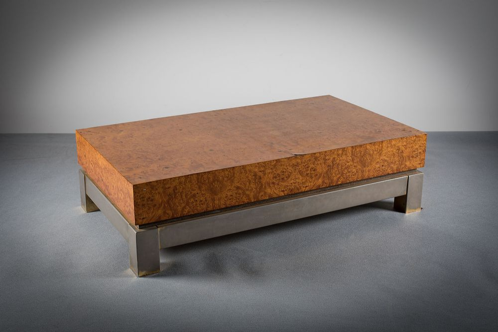 BURR MAPLE COFFEE TABLE