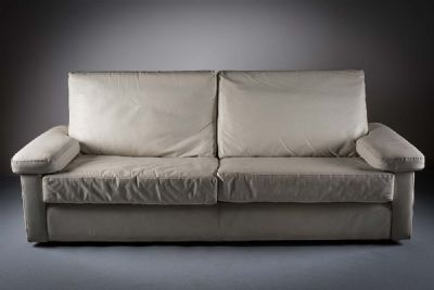 LEATHER SOFA by Poltrona Frau  at de Veres Auctions