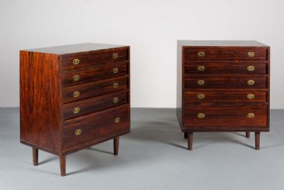 DANISH ROSEWOOD CHESTS at de Veres Auctions