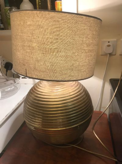 TABLE LAMP at de Veres Auctions