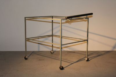 1950s DRINKS TROLLEY at de Veres Auctions