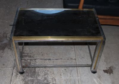 1970s DRINKS TROLLEY at de Veres Auctions