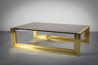 1960s LOW TABLE at de Veres Auctions