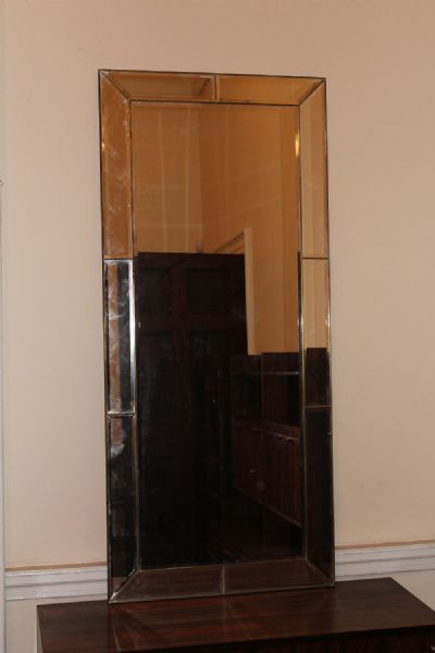 COMPARTMENTED WALL MIRROR at de Veres Auctions