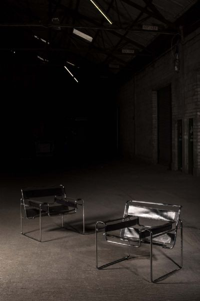 WASSILY CHAIRS by Marcel Breuer  at de Veres Auctions