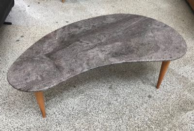 MARBLE TOP COFFEE TABLE at de Veres Auctions