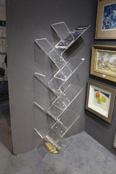 WALL MOUNTED SHELF UNIT by Eda Concept  at de Veres Auctions