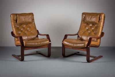 DANISH EASY CHAIRS at de Veres Auctions
