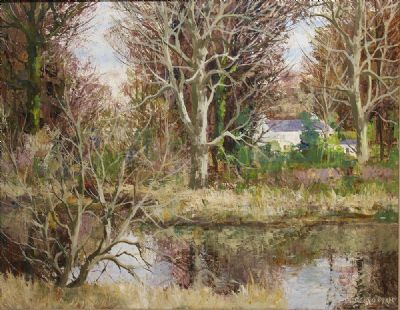 THE MILL POND by Fergus O'Ryan  at de Veres Auctions