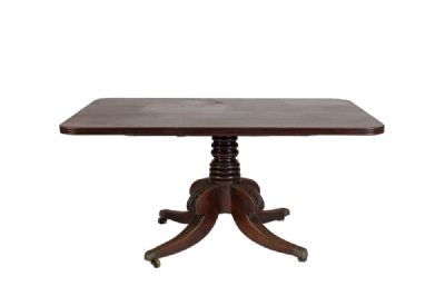 IRISH REGENCY SUPPER TABLE at de Veres Auctions