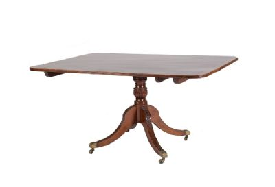 A REGENCY SUPPER TABLE at de Veres Auctions