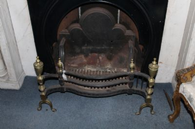 A FIRE GRATE at de Veres Auctions