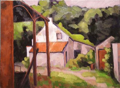ABANDONED FARM by Bob Lynn  at de Veres Auctions