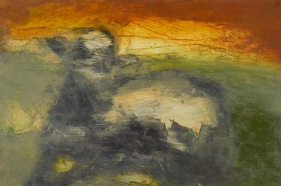 FIELD OF THE COW by Hughie O'Donoghue RA  at deVeres Auctions