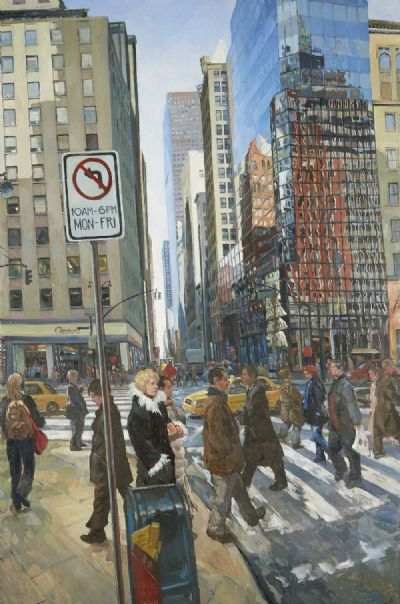 SOMEWHERE NEAR GRAND CENTRAL STATION by Hector McDonnell  at deVeres Auctions