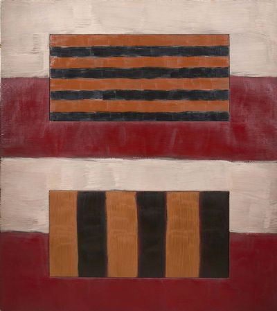 DOUBLE WINDOW by Sean Scully  at deVeres Auctions