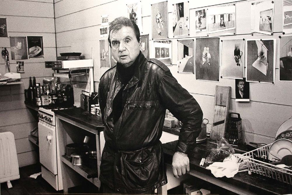Lot 7 - FRANCIS BACON, LONDON 1984 by John Minihan