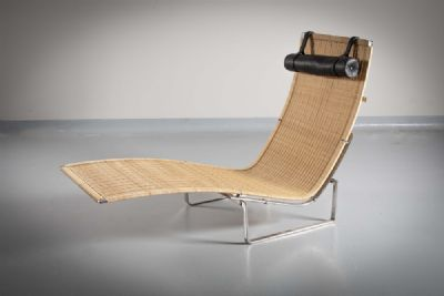 THE MODEL PK24 �HAMMOCK CHAIR�, by POUL KJÆRHOLM,  at deVeres Auctions