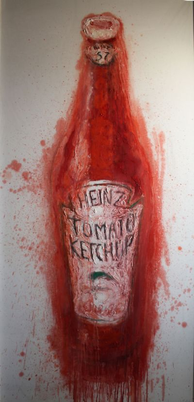 KETCHUP BOTTLE by Neil Shawcross  at deVeres Auctions