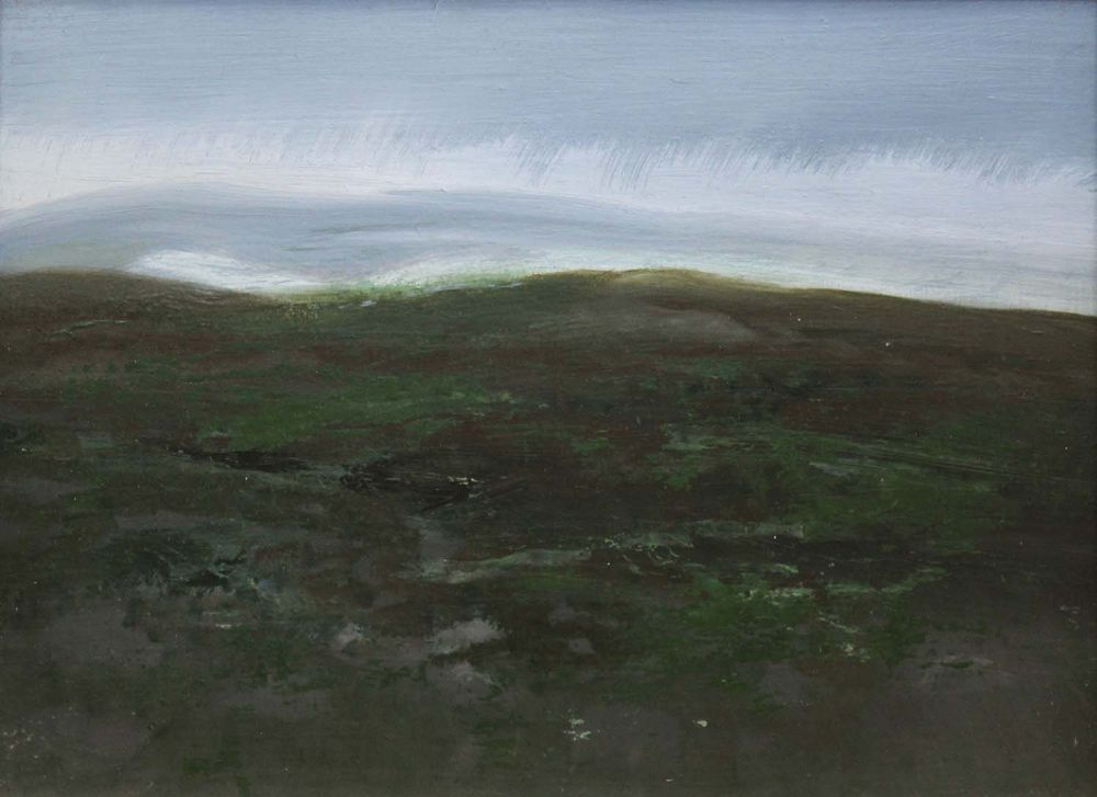 THE SEA, GALWAY BAY by George Campbell  at deVeres Auctions