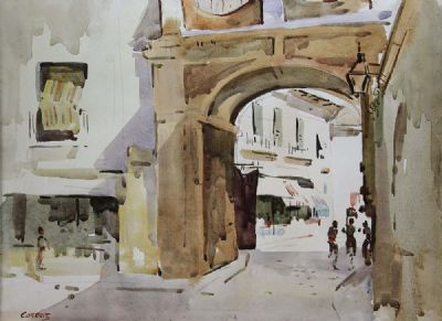 THE ARCH by Desmond Carrick 1928 - 2012  at deVeres Auctions