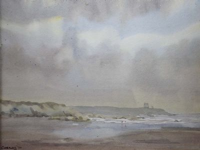 THE BEACH AT DONABATE by Desmond Carrick  at deVeres Auctions