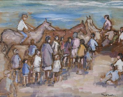 PONY RIDES by Gladys McCabe 1918 - 2018  at deVeres Auctions