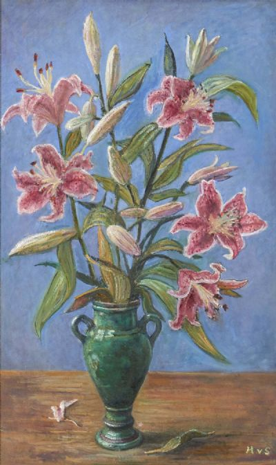 STILL LIFE OF FLOWERS by Hilda van Stockum 1908-2006  at deVeres Auctions