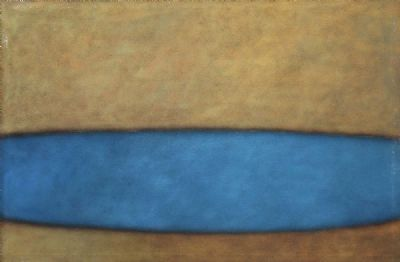 ABSTRACT BLUE by Sarah Walker  at deVeres Auctions