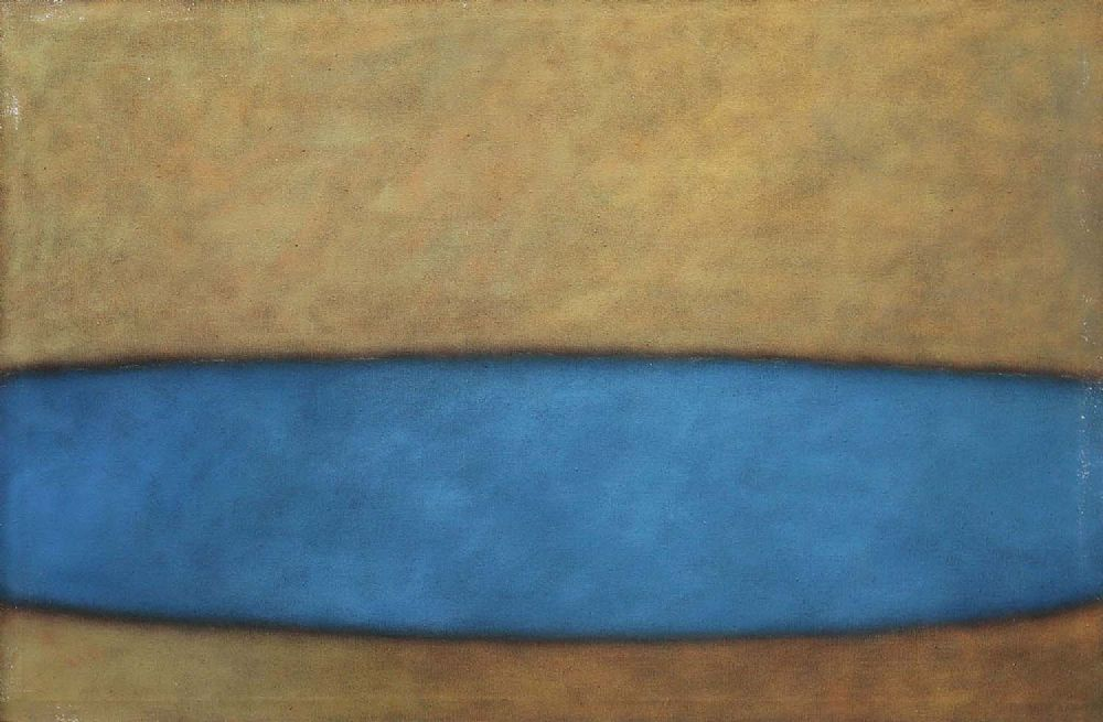 Lot 20 - ABSTRACT BLUE by Sarah Walker
