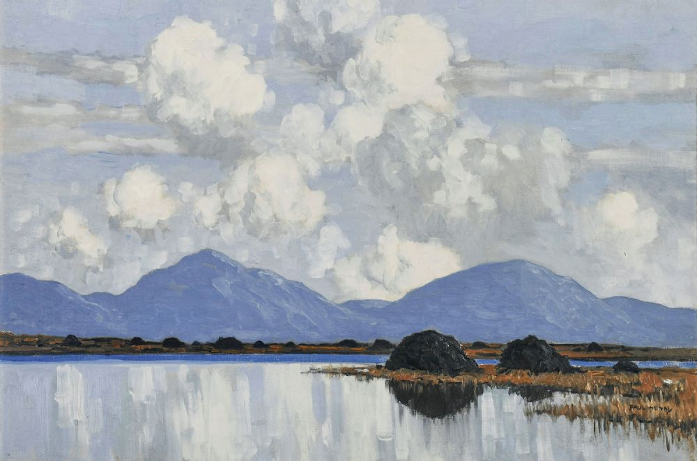 WESTERN LANDSCAPE by Paul Henry  at deVeres Auctions