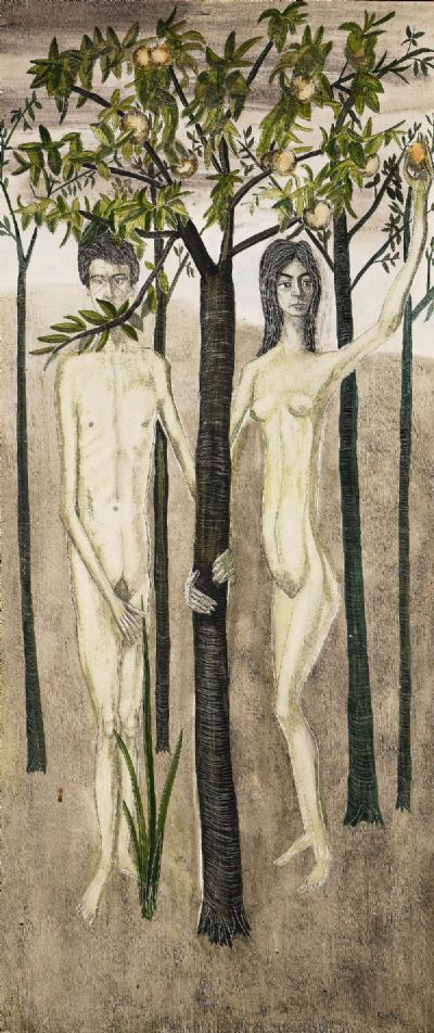 ADAM AND EVE by Reginald Gray  at deVeres Auctions