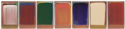 ARBITRARY COLOUR COLLECTION (7) by Ciaran Lennon  at deVeres Auctions